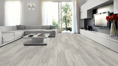 Kronotex Laminate - Robusto 12 mm Collection Rip Oak White