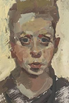 Alison Watt - Self Portrait, gouache on MutualArt.com