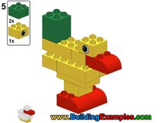 free duplo construction examples