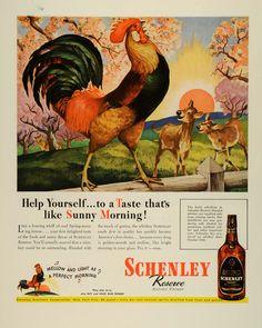 1944 Ad Schenley