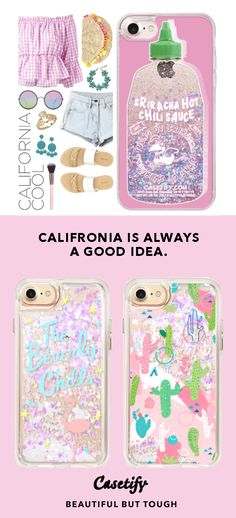 """""""California is always a Good Idea.""""   Top iPhone 7 Cases and iPhone 7 Plus Cases for Cali Vibes Lovers. For more California Cases, shop them here ☝☝☝ BEAUTIFUL BUT TOUGH ✨ - Cali, CA, Orange, Travel, USA. America, Los Angeles, Road Trip, Girl, Photography, Southern, San Diego, Living"""