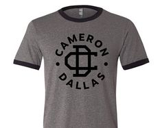 Cameron Dallas Is My Boyfriend Shirt Ringer Shirt Cameron Dallas Magcon Boys Shirt Merch Nash Grier Shirt Merch
