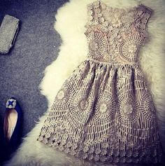 Vintage lace dress This is adorable! Vestido Dress, Dress Vestidos, Dress Skirt, Pretty Dresses, Beautiful Dresses, Gorgeous Dress, Look Fashion, Womens Fashion, Dress Fashion
