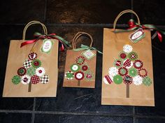 decorating+gift+bags | ... decorating gift bags and created a beauiful bag for my Thank You Gift