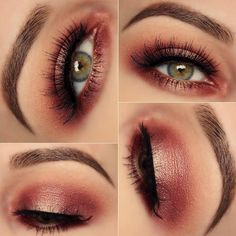 When the beauty of hazel eyes is underestimated we rush in. That is the case with our today's survey. Have a look at what we have to embrace the beauty! #makeup #makeuplover #makeupjunkie #eyemakeup