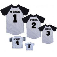 Baseball T Shirt Designs Ideas t1027 baseball sun t shirt design template Personalized Family Name Baseball T Shirts With Numbers Great Family Gift Idea