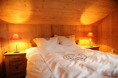 Swiss chalet Swiss Chalet, Bed, Places, Furniture, Home Decor, Real Estate, Decoration Home, Stream Bed, Room Decor