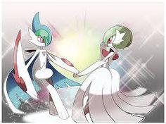 pokemon mega gallade and gardevoir aa beautiful
