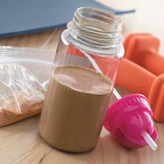 Carnation® Chocolate Milk On-The-Go | Meals.com - These simple to-go packets are easy to make and great to keep in your purse, gym bag, car or desk. Just add water and you'll have a delicious post-workout boost or afternoon treat in seconds. Great alternative to soda! #carnation #chocolatemilk
