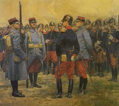 Projets pour de nouveaux uniformes- by Edouard Detaille 2