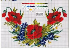 Gallery.ru / Photo # 1 - poppies cornflowers - irisha-ira