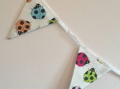 Ladybird - Ladybug - bunting - Handmade - Decoration - room decor - kids room decor - nursery -gift idea