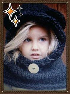 25a7a416c7ac Incontournable accessoire pour enfant et bébé quand la bise viendra. Les  tout petits ne peuvent