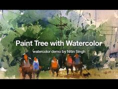 5 beginner watercolor exercises to avoid muddy color of your painting - YouTube