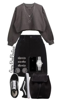 """#717"" by gypsyroseboutique on Polyvore featuring rag & bone, Gucci, Vans, Mansur Gavriel, TAG Heuer and Miss Selfridge"