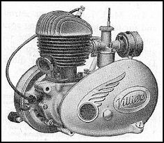 A history of the Villiers company with particualr reference to the motor cycle engines Antique Motorcycles, British Motorcycles, Triumph Motorcycles, Cars And Motorcycles, Classic Bikes, Classic Motorcycle, Power Bike, Trial Bike, Motorcycle Engine