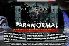 Visit the John Zaffis Museum of the Paranormal