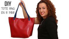 DIY TOTE BAG EN 15 MIN! | Patrones gratis