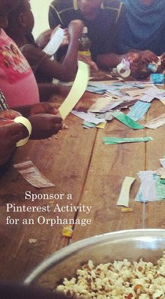 Sponsor a Pinterest Activity for an Orphanage | A Justice For Hope