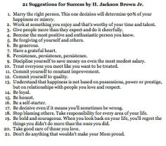 Suggestions for success quote