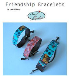 Sew Spoiled: Friendship Bracelet Tutorial