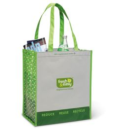 Product: Laminated 100% Recycled Shopper