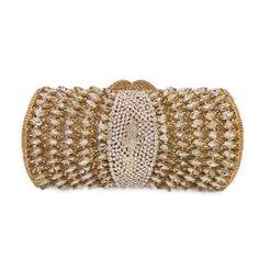 Women Purple Rhinestones Crystal Evening Clutches Bag Wedding Bridal Chains Shoulder Handbags Purses #Clutches