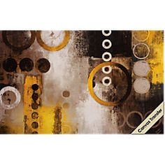 picture of Yellow Liberated Canvas Artwork  from Wall Decor Furniture