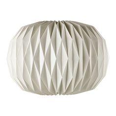 £60 ZEN paper pendant lamp in white D 70cm