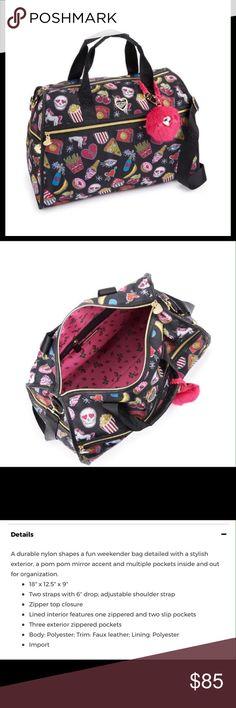 Betsey Johnson Nylon Weekender Bag Betsey Johnson Nylon Weekender Bag Betsey Johnson Bags Travel Bags
