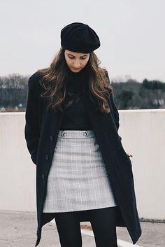Styled Plaid Skirt