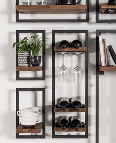 living room ideas – New Ideas Alcove Storage Living Room, Shelves In Bedroom, Home Decor Furniture, Home Decor Items, Teak Furniture, Diy Wand, Mini Bars, Wine Shelves, Home Organisation
