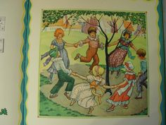 Illustration from Berta and Elmer Hader's Mother Goose