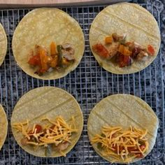 Baked Chicken Tacos - A Super Simple Healthy Meal Prep Recipe Mexican Food Recipes, Snack Recipes, Cooking Recipes, Snacks, Healthy Meal Prep, Easy Healthy Recipes, Easy Meals, Chicken Meal Prep, Chicken Recipes