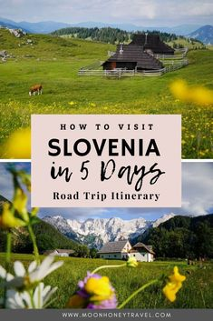 A magical road trip around the Kamnik-Savinja Mountains of Slovenia. Discover Velika Planina, Robanov Kot, Logar Valley, Jezersko, and end your trip in Lake Bled. Find out how to spend 5 days in Slovenia.   #slovenia #sloveniaitinerary #sloveniatravel #visitslovenia #europetravel #roadtrip #slovenianalps #lakebled #logarvalley #jezersko #velikaplanina Travelling Europe, Europe Travel Guide, Travel Destinations, Visit Slovenia, Slovenia Travel, Road Trip Hacks, Road Trips, Travel Ideas, Travel Inspiration