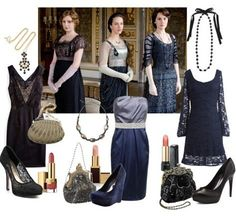 Downton Abbey, moda vintage - Tendenzias.com