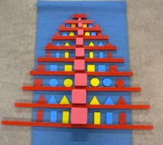 Kerst - MontessoriNet Montessori Elementary, Montessori Classroom, Maria Montessori, Montessori Activities, Mothers Day Crafts For Kids, Diy For Kids, Advent, Make School, Kids Playing