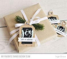 Creative Constructions with Blueprints, Holiday Tags