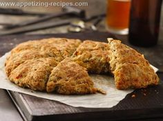 Cheese and Bacon Spent Grain Scones : Appetizing Recipes
