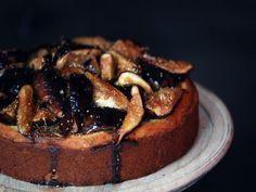 Rosemary, Honey, and Fig Cake for Rosh hashana!
