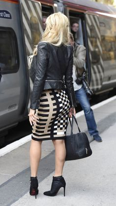 Paris Hilton seen in Liverpool