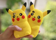 3D cute cartoon soft silicone case Digimon lovely Pikachu back protect rubber cover for iPhone 4/4s/5/ 5s