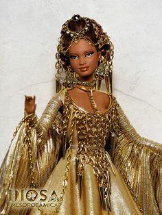 Ishtar, Diosa Mesopotámica (Mesopotamian Goddess) | da davidbocci.es/refugiorosa