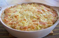 Food Hunter's Guide to Cuisine: Cheesy Potatoes With Mushrooms & Leeks