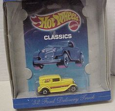 1989 Hot Wheels '32 Ford Delivery Truck Authentic Commemorative Replica 30 yr. #HotWheels #32FordDeliveryTruck Home Accessories Stores, 32 Ford, Hot Wheels Cars, Nightmare On Elm Street, Christmas Shopping, Hot Rods, Delivery, Trucks, Toys
