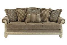 Ashley Furniture,  beautiful formal piece. No Boys Allowed!