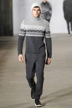 Todd Snyder Fall 2016 Menswear Fashion Show – Knitting Fashion Men Fashion Show, Mens Fashion Week, Knit Fashion, Men's Fashion, Fashion Menswear, Todd Snyder, Vogue Paris, Stylish Men, Outfit