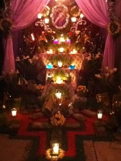 Oaxacan altar