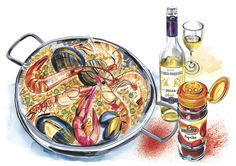 andrea turvey illustrator: food