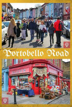 Portobello Road - o maior mercado de antiguidades do mundo!
